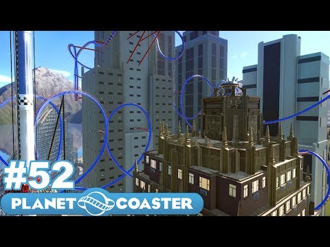 Let's Build the Ultimate Theme Park! - Planet Coaster - Part 52 (Craziest Coaster Yet!)