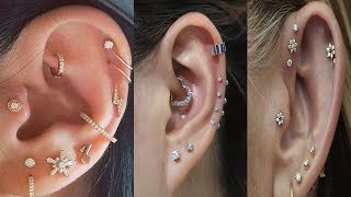 Trendy Cartilage Earrings|| Stylish Cartilage Piercings Earrings||Cartilage Piercings Jewelry