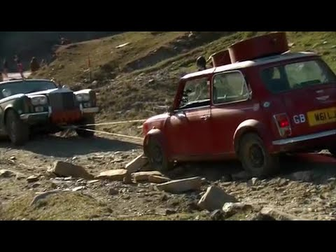 A Mini winches a Rolls   Top Gear Christmas Special 2011   BBC
