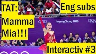 Интерактив №3: Alina ZAGITOVA - FP, OG 2018 (TAT) [Eng subs]