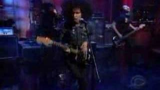 """At the Drive-In - """"One-Armed Scissor"""" LIVE on the Late Show"""