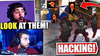 We Spectated A Full Team Of Hackers! (Call Of Duty Warzone Highlights)