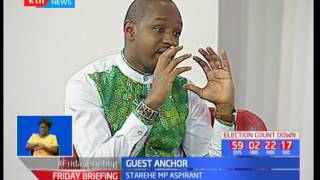 Starehe Constituency's aspirant Boniface Mwangi's ten bob resolution: Guest Anchor