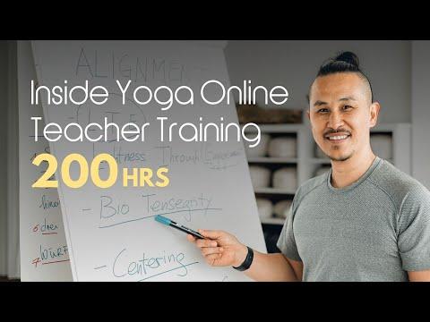 200-Hour Inside Yoga Online Teacher Training with Young Ho Kim