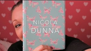 Filofax A5 Notebook Butterfly First Impressions And Review   Nicola Dunna