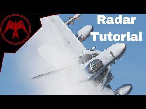 F/A-18C Hornet Detailed Radar Tutorial