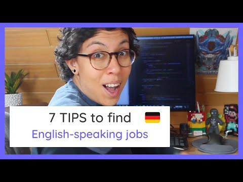 Find a Job in Germany WITHOUT SPEAKING German Fluently 🚀