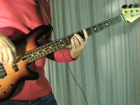 Earth & Fire - Only Time Will Tell - Bass Cover