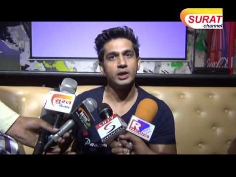 Gujarati Movie Romance Complicated Promotion at Shott, Surat
