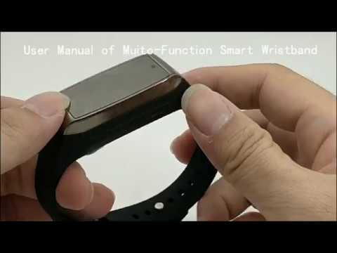 Smart Bracelet Video Recording Camera With Tracker Function Operational video