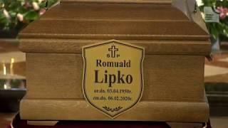 Uroczystości pogrzebowe Romualda Lipko (12.02.2020)