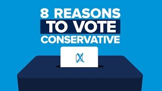 8 reasons to vote Conservative