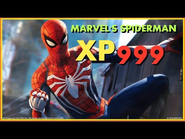 Check Out This Unlimited XP Glitch of Spiderman PS4