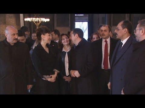Στην Αγία Σοφία ο πρωθυπουργός Αλ. Τσίπρας