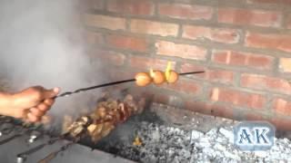 шашлык из яиц ))))))