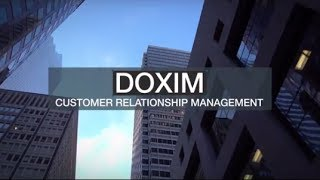 Doxim CRM video