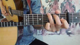 HOW TO PLAY Tom Dooley Doc Watson Style - Bluegrass guitar lesson