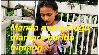Pengamen Cantik Ini Nyanyi Lagu Diantara Beribu Bintang Versi Koplo!!