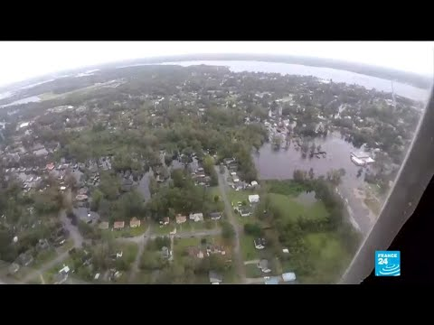 North Carolina residents survey damage left by Florence