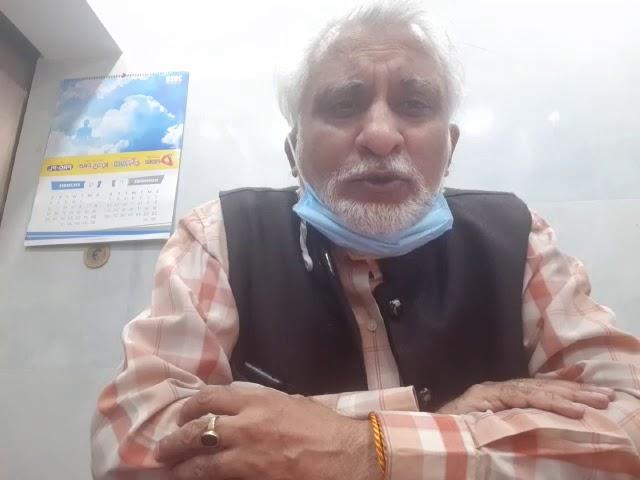 Dr. Ajay Gambhir, Hony. State Secretary, DMA on  Covid Pandemic