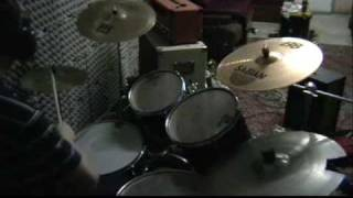 Acid Drinkers - Dancing in the Slaughter House (drum cover by Ar)