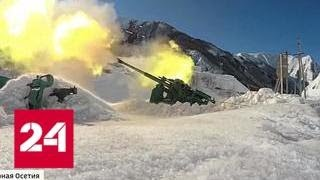 МЧС пытается расчистить от лавин Транскавкавказскую магистраль - Россия 24