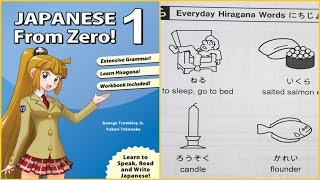 Japanese from Zero Book . 1 Review | Hit or miss?