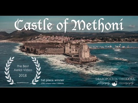 Castle of Methoni 🇬🇷 by DroneGr