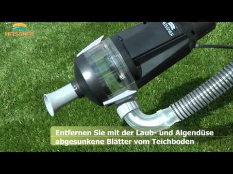 Der neue Profi-Schlammsauger F1 von Heissner