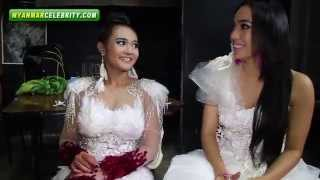 "Phyu Phyu & Moe Hay Ko @ ""Ngat Kalay Lol"" MTV Making"