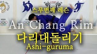 [한판TV] 안창림의 다리대돌리기 (ashi-guruma) AUTO SUB!!