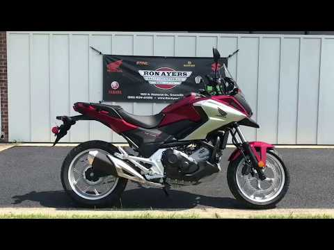 2018 Honda NC750X in Greenville, North Carolina - Video 1