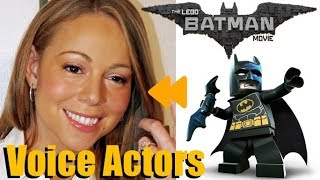 """""""The LEGO Batman Movie""""(2017) Voice Actors and Characters"""