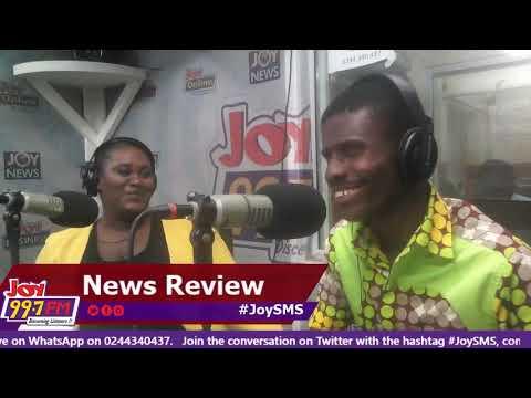 #JoySMS Newspaper Review on Joy FM (24-10-18)