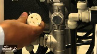 Ideal H2O - Professional Series - Adding a Chemical Injection Pump