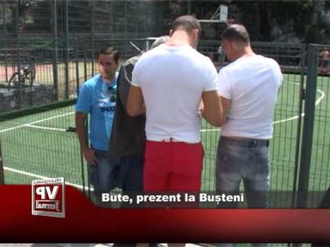 Bute, prezent la Bușteni