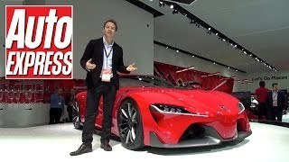 Toyota FT-1 (Supra) at the Detroit Motor Show 2014 - Auto Express