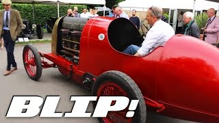 Watch This Flame-Spitting 28.5-Liter Fiat Race And Be Afraid | BLIP!