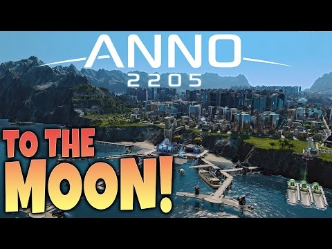 Anno 2205 Gameplay – To The Moon! – City Building / Corporation Sim