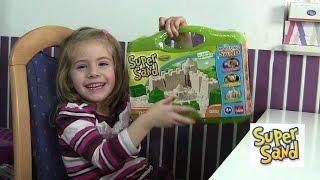 Super Sand – Sandburgen bauen im Kinderzimmer - Spielsand   Goliath Toys