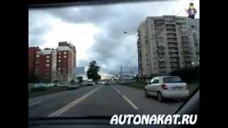 Урок с начинающим водителем. Движение по городу. Часть3