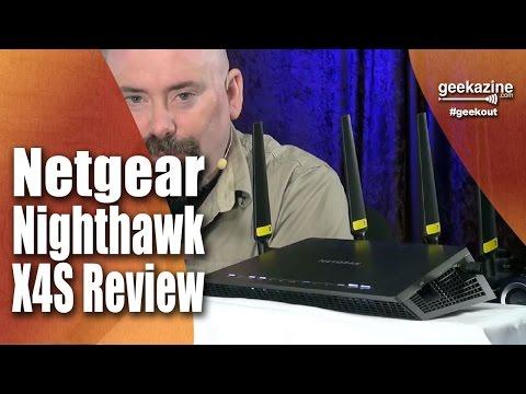 Netgear Nighthawk X4S Wireless Router Review