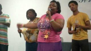 Beautiful Gates Praise Team @ Youth on the front line 2009  pt. 2