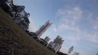 FPV Flight Singapore - Tanglin Halt - Sunset Flight