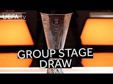 UEFA EUROPA LEAGUE 201819 GROUP STAGE DRAW