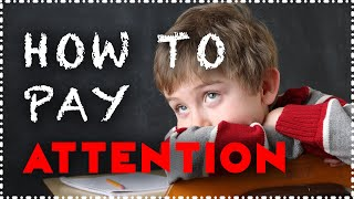 How to Pay Attention in Class & School [How to Focus With ADHD & ADD] Concentrate, & Improve Memory
