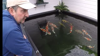 Koi Keeper Visited - Gary and Beth Parker - Part 1