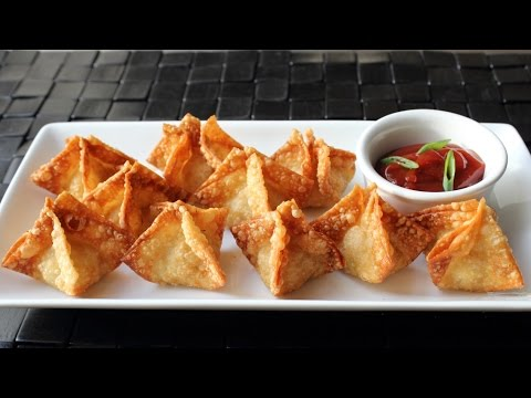 Crab Rangoon – Crispy Crab & Cream Cheese Wonton Recipe