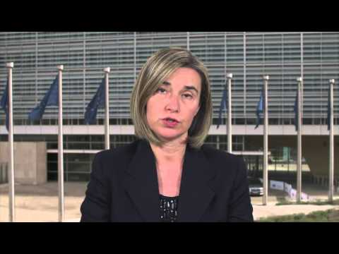 Europe Day - High Representative Federica Mogherini video message