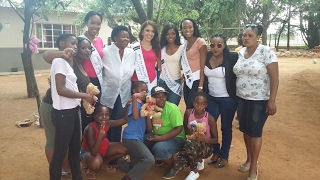 Miss South Africa 2017 Top 12 Finalists helped and spread love at Lethukukhanya Care Centre